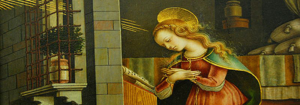 Carlo Crivelli, The Virgin Annunciate, 15th C.