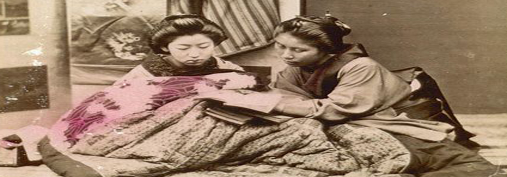 Two Women Reading, Japan National Museum of Denmark
