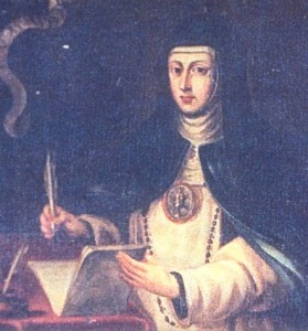 Portrait of María de Jesús de Agreda